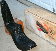 NOS Chopper Panhead Knuckle Shovel 1960's Seat Brand New. King Queen Style With Diamond Stiching. NOS NEW Still In Original Box. E + L Seat Co. Please see my pictures for the seat you will receive.