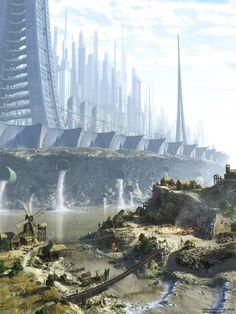 Metropolis of Tomorrow • via skyscraper: indolent