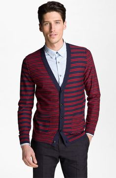 PS Paul Smith Wool Cardigan available at #Nordstrom