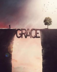 The Bridge of Grace // Art Print // https://www.etsy.com/listing/167902047/the-bridge-of-grace-art-print-christian?ref=shop_home_active
