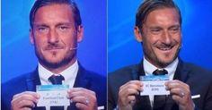Totti pesca il Barcellona per la Juventus  #champion #roma #totti #asroma