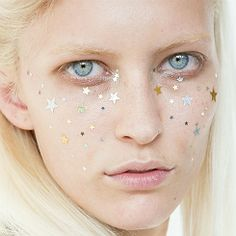 Star shaped freckles
