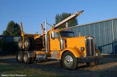 1950 kenworth log truck from brook Oregon