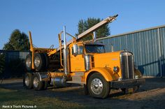 1950 kenworth log truck from brook Oregon