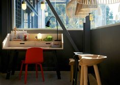 Another sunny picture with the Secto Design pendants from the Fred International http://www.fredishere.com.au/, Sydney Showroom