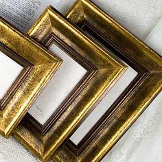4x5 Deluxe Gold Photo Frame in Dark Simple par mackenzieframes, $36,00