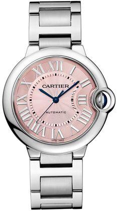 Ballon Bleu de Cartier Femmes rose automatique 36mm W6920041