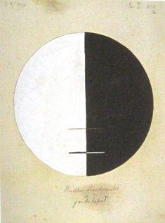 Hilma af Klint - Nr. 3a. Budhas ståndpunkt i jordelifvet, 1920.