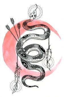 snake rachel ponygold