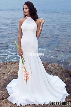 wedding dress beach theme