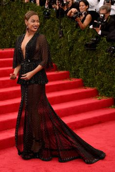 Beyonce in custom Givenchy Couture at the Met Gala.
