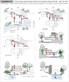 norman fisher house dwg drawings architetture famose pinterest