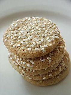 Chinese Sesame Cookies
