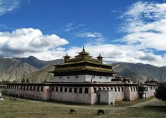 Tibetan Monastery, would love to visit there for sure.