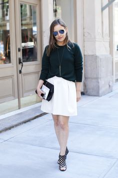 Marie Claire Editor Street Style Spring 2014 - What Editors Wear to Fashion Week - Marie Claire