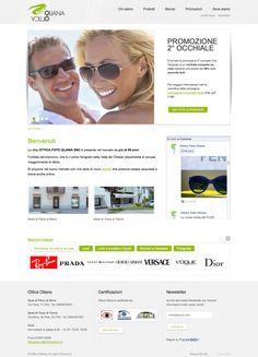 E' online il sito dell'Ottica Oliana e la versione mobile. A breve verrà pubblicato anche lo shop online dove poter acquistare occhiali alla moda, lenti a contatto, idee regalo e binocoli.