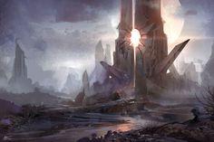 ArtStation - Castle of sun, jeremy chong