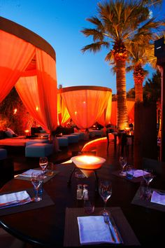 Baoli - An exclusively chic lounge and restaurant with super stylish people and Pan-Asian fare. Fun place for a night out on the town.  50 Boulevard Croisette  06400 Cannes, France  04 93 99 49 26