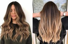 "The most striking trend of hair color in What is the ""Hairbronzing"" trend? Latest Hair Trends, New Trends, Bronze Highlights, Natural Hair Styles, Long Hair Styles, Auburn Hair, Hair A, Hair Brush, Get The Look"