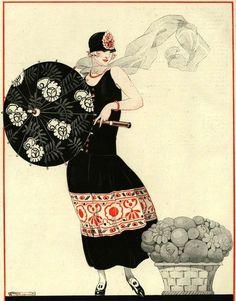 .Tumblr  Magazine plate illus 1920