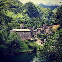 La magia della #Garfagnana #Isola #Santa