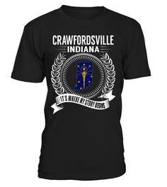 Crawfordsville, Indiana - It's Where My Story Begins #Crawfordsville
