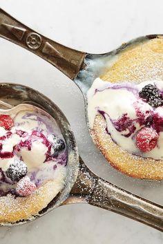 Vanilla Bean Pudding Cakes Recipe                                                                                                                                                                                 More
