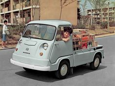 Subaru Sambar Truck (First Generation) Subaru Impreza, Kei Car, Microcar, Subaru Cars, Mini Trucks, Transporter, Cute Cars, Funny Cars, Japanese Cars