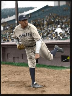 Babe Ruth - NY Yankees (colorized) 1929