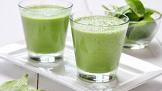 Pineapple Green Smoothie (spinach, pineapple, banana, lime, chia seeds) | The Dr. Oz Show