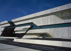 Zaha Hadid has completed a streamlined concrete and glass building for three government departments in Montpellier, France.