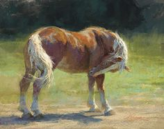 Just About Got It by Kim Lordier Pastel ~ 16 x 20