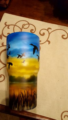 113 Best Yeti Style Tumblers Custom Airbrushed Images In