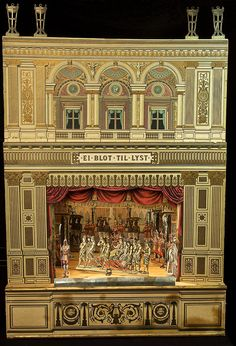 Miniature Theatre | Miniatyrteater by Länsmuseet Gävleborg, via Flickr