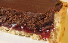 Τάρτα Σοκολάτα-Βατόμουρο   Making Sweets Meatloaf, Pie, Desserts, Food, Torte, Tailgate Desserts, Cake, Deserts, Fruit Cakes