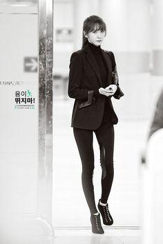SNSD Yoona Ralph Lauren airport fashion 141107