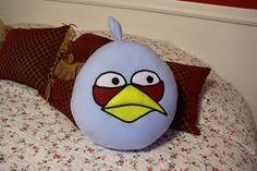 blue angry bird
