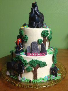 "Disney ""Brave"" cake by Nicole Doan"