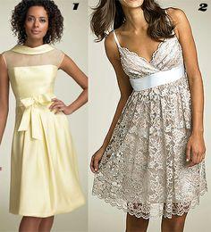 champagne colored bridesmaid dresses - Google Search