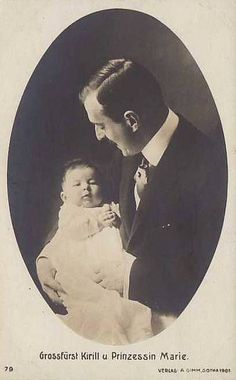 Grand Duke Kyrill of Russia with daughter Marie | Flickr - Photo Sharing!