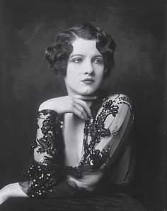 Ziegfeld Girls / Jean Ackerman  I think I should cut my hair a little shorter...