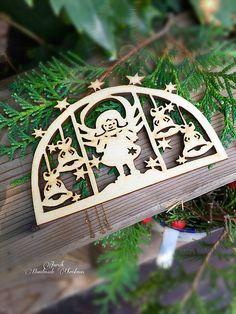 jarcik / Vianočný výrez anjel (C2)