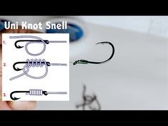 A quick video on how to correctly snell a hook. With the advance in circle hooks and other offset eye varieties learn why it's correct to snell for proper pu. Snell Knot, Uni Knot, Fly Fishing Knots, Fishing Times, Fishing Report, A Hook, Rigs, Make It Yourself, Youtube