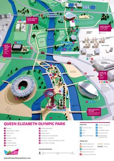 Hattie Newman - paper model of London Olympic Park