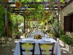 Vasilias Nikoklis Inn Paphos Wedding Ceremony Cyprus