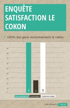 Infographic: Enquête Satisfaction le coKon -