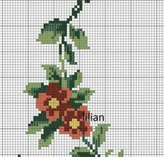 Easy Cross Stitch Patterns, Simple Cross Stitch, Book Crafts, Diy And Crafts, Embroidery Stitches, Needlepoint, Berlin, Crochet, Embroidery Ideas