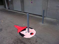 Pinocchio on the street