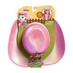 Official Disney Sheriff Callie cowgirl hat.