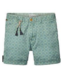 Shorts chinos estampados
